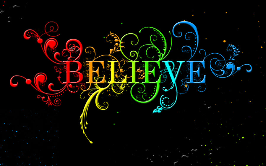 Believe God will do it. Never let doubt psych you out